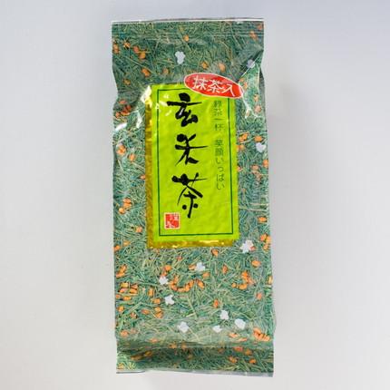 玄米の香ばしい香りが美味しい 「抹茶入玄米茶」